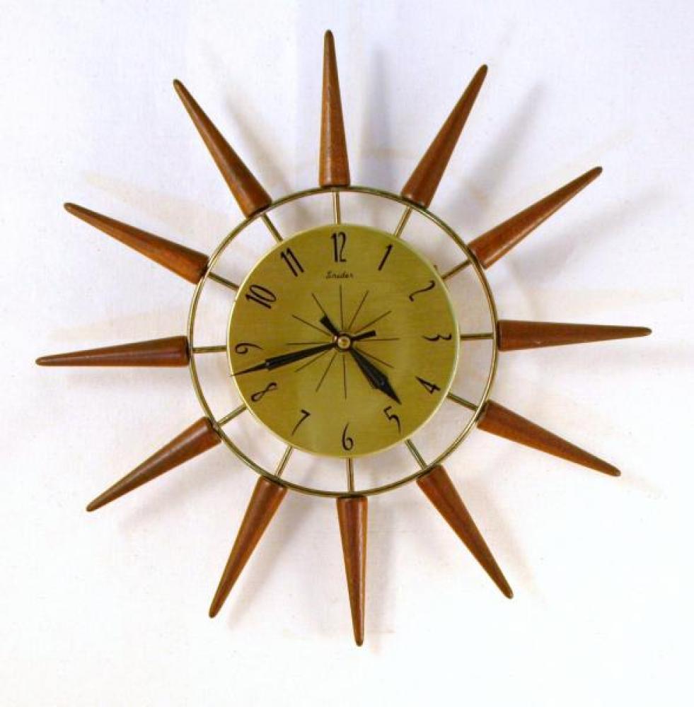 Galleries Snider Clocks Toronto 1950 1976 Snider Starburst