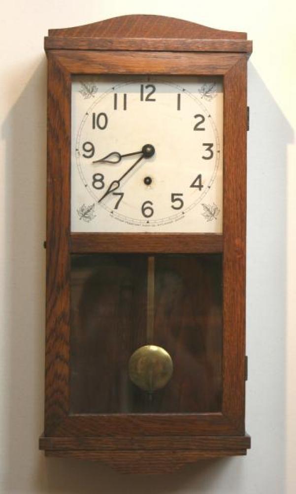 """Pequegnat """"Ideal"""" model mantel clock"""