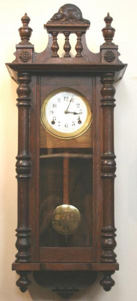 """Pequegnat """"Large Beaver"""" model wall clock"""