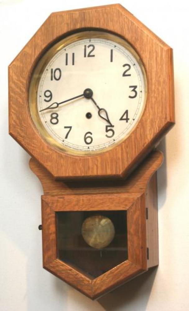 """Pequegnat """"Preston"""" model wall clock"""