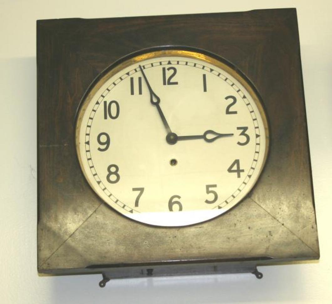 """Pequegnat """"York"""" model wall clock"""