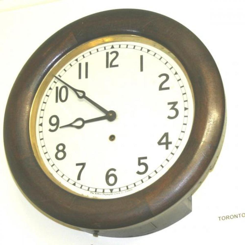 "Pequegnat ""Toronto"" model wall clock"
