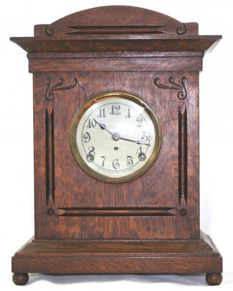 """Pequegnat """"Sarnia"""" model mantel clock"""