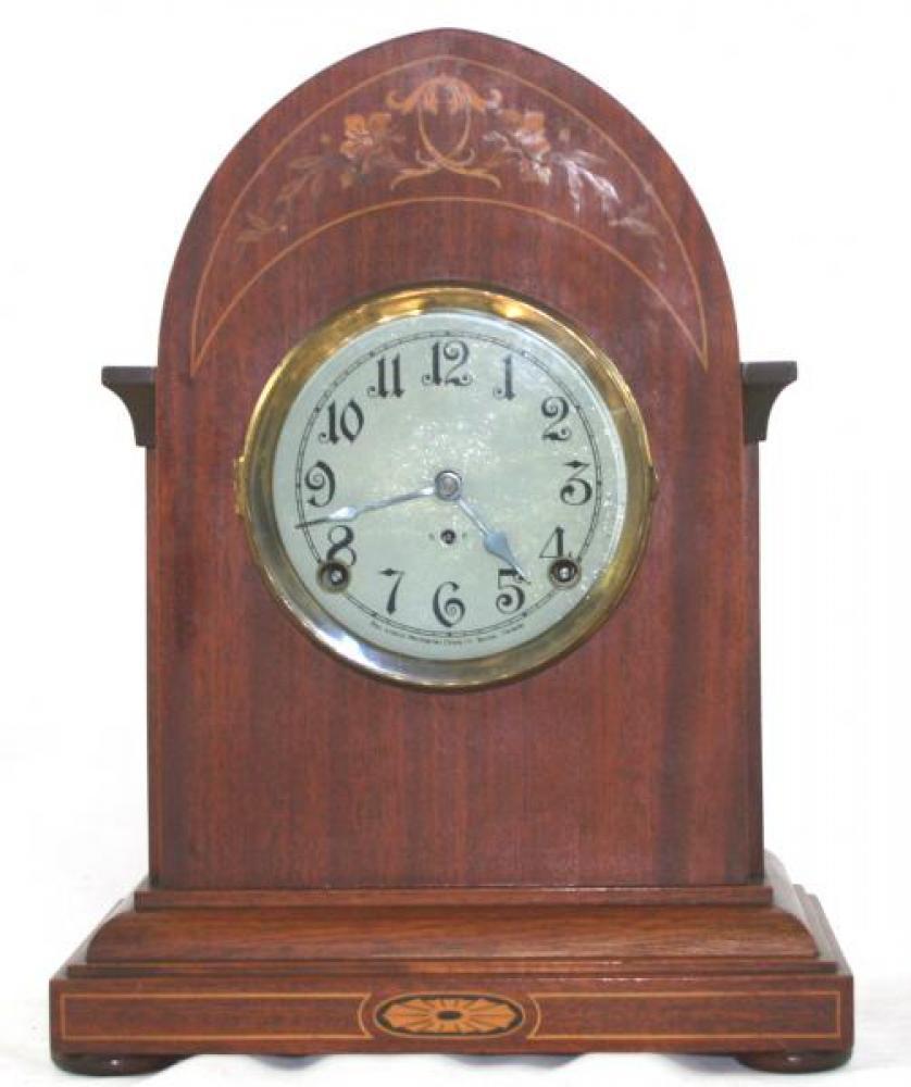 """Pequegnat """"Paris"""" model mantel clock"""