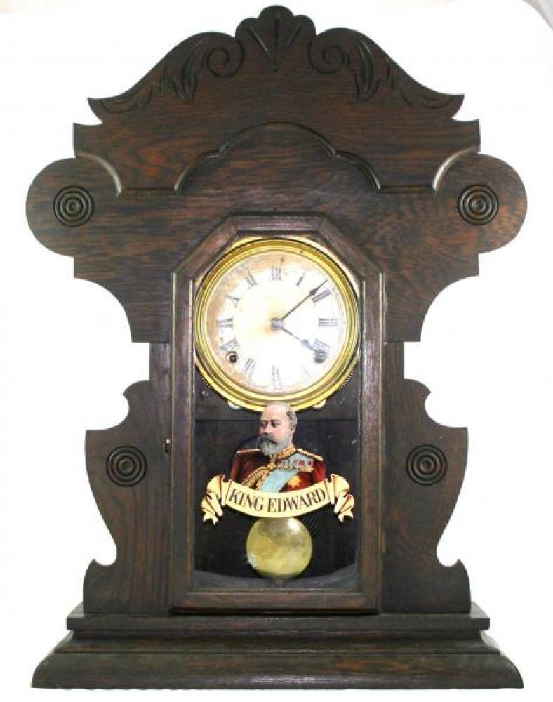 """Pequegnat """"Monarch"""" model mantel clock"""