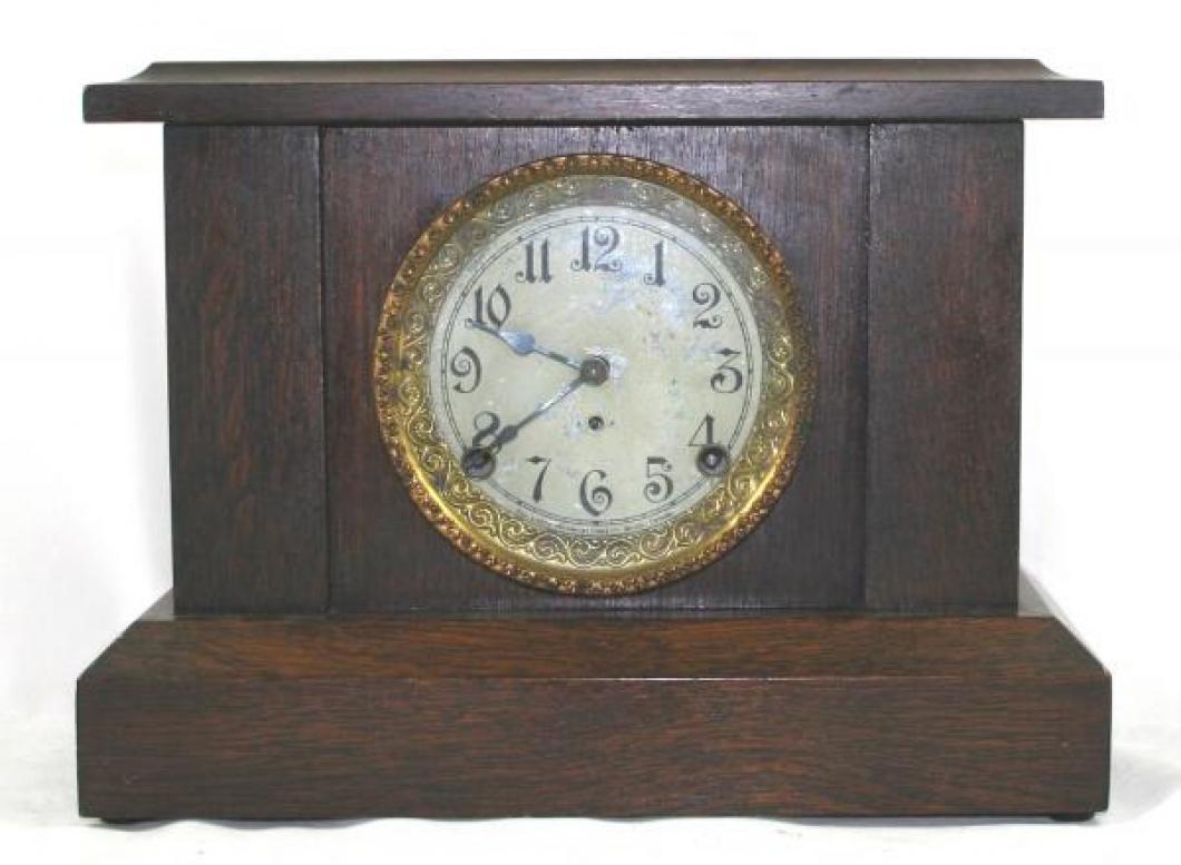 """Pequegnat """"Jewel"""" model mantel clock"""