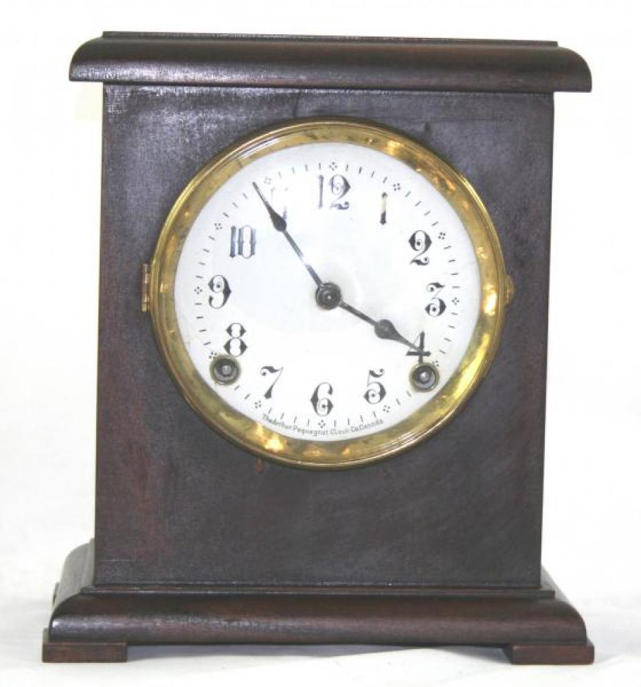 "Pequegnat ""Elite"" model mantel clock"