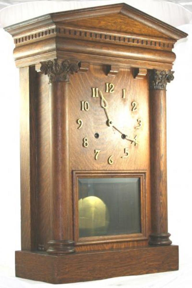 """Pequegnat """"Citadel"""" model mantel clock"""