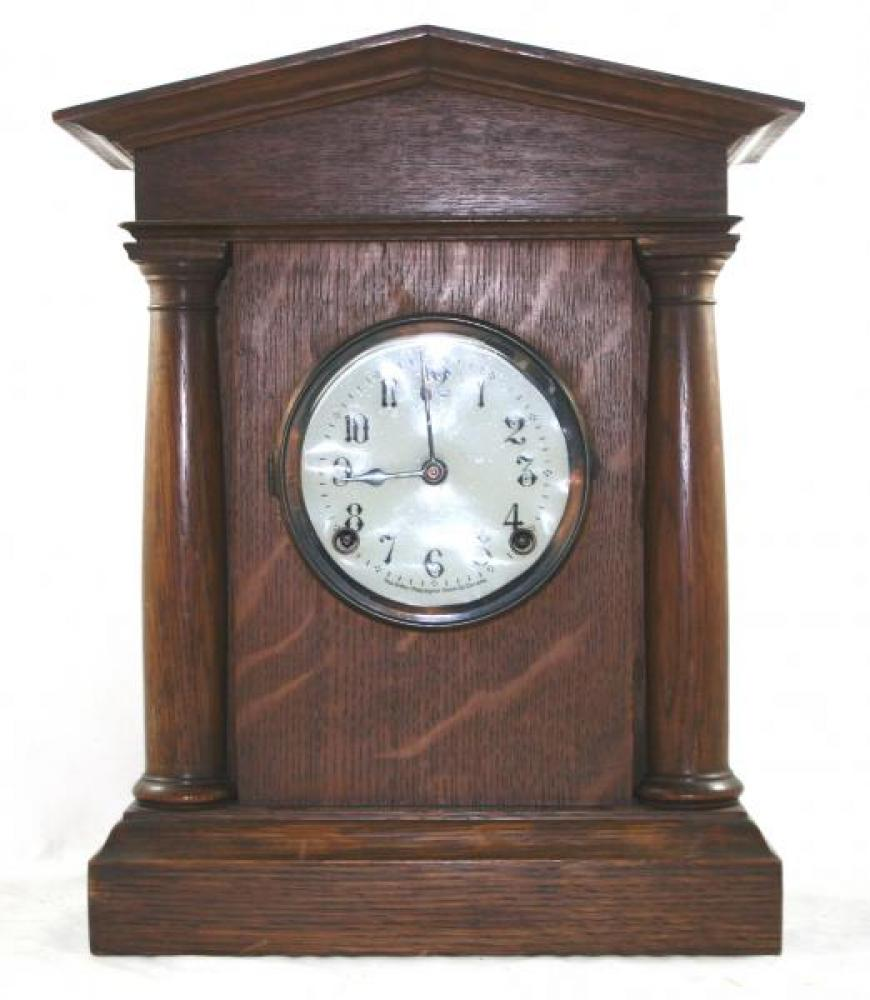 "Pequegnat ""Chatham"" model mantel clock"