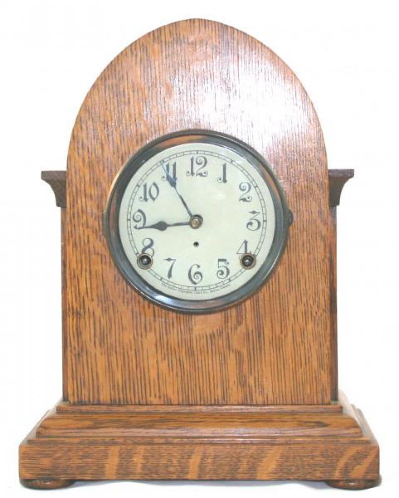 "Pequegnat ""Picton"" model mantel clock"