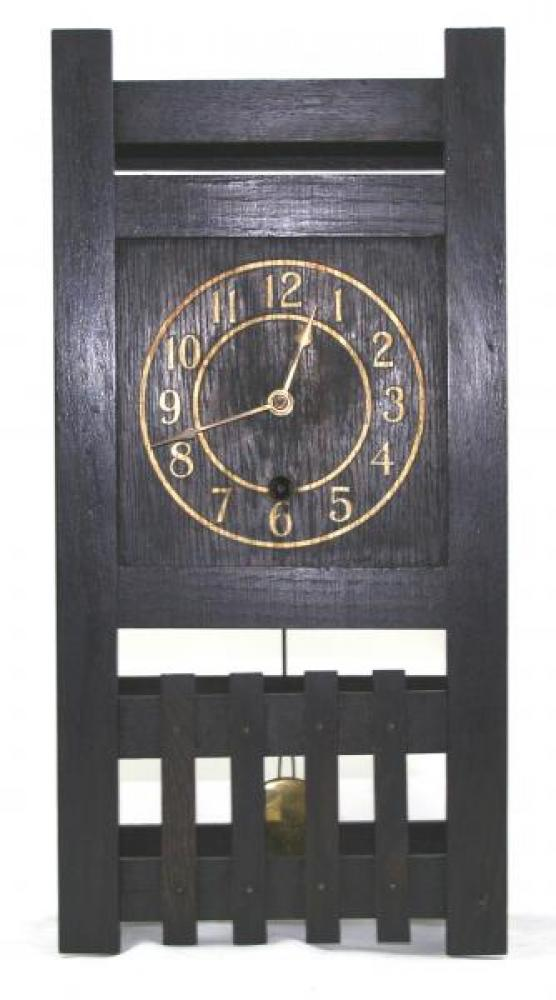 """Pequegnat """"Midget"""" model mantel clock - painted dial"""