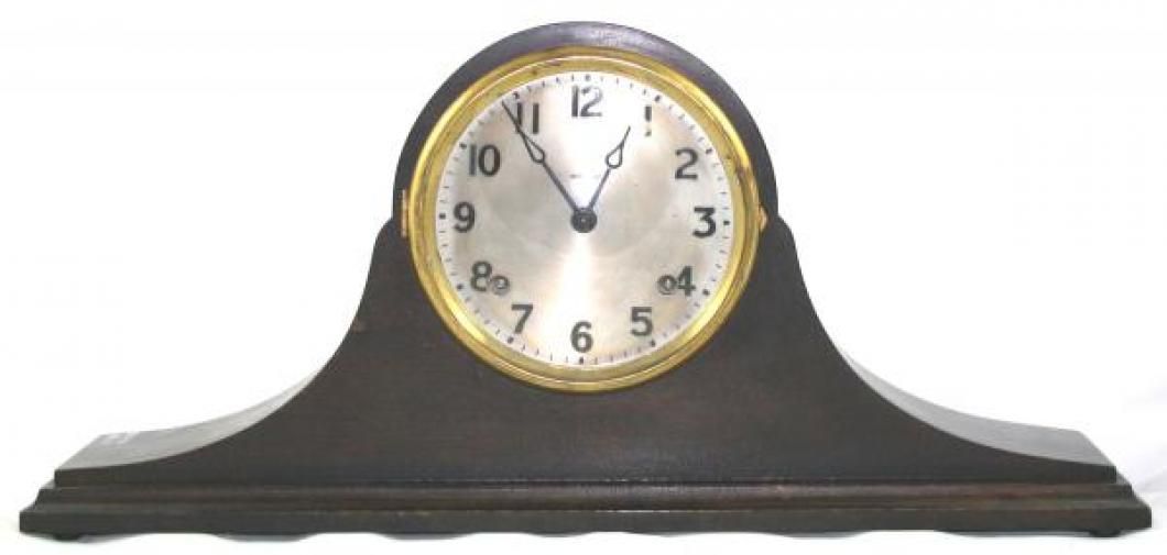 "Pequegnat ""Royal"" model mantel clock - larger face"