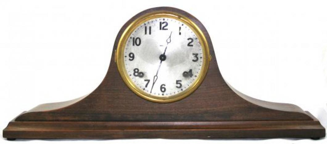 "Pequegnat ""Delight"" model mantel clock"