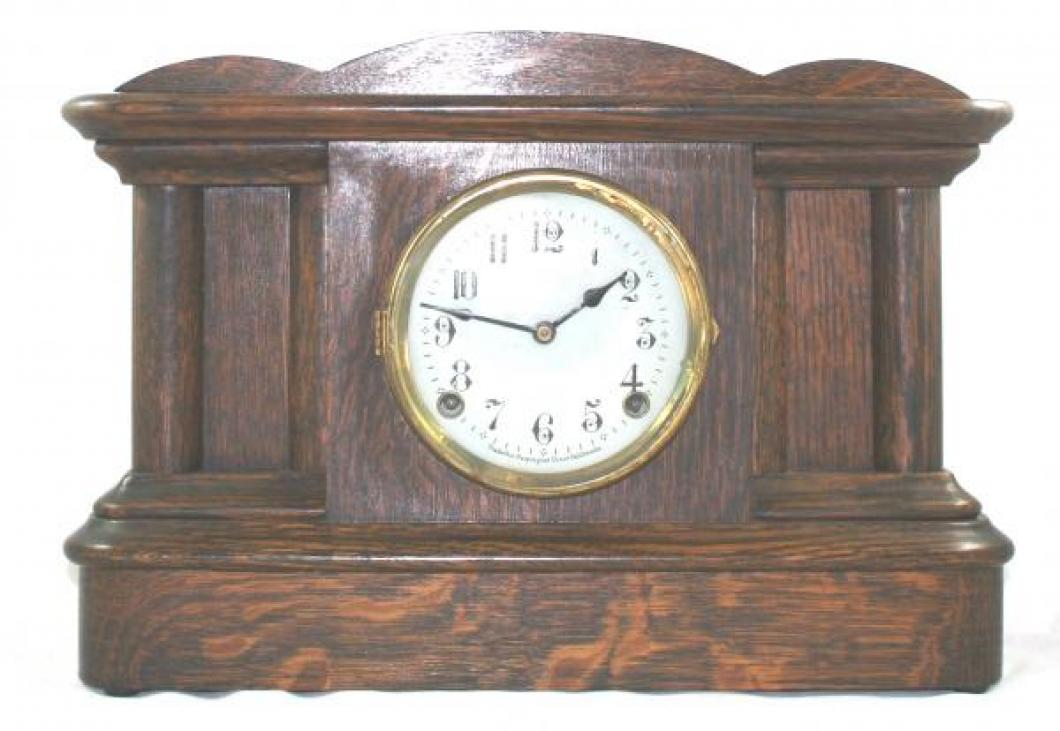 "Pequegnat ""Amherst"" model mantel clock"