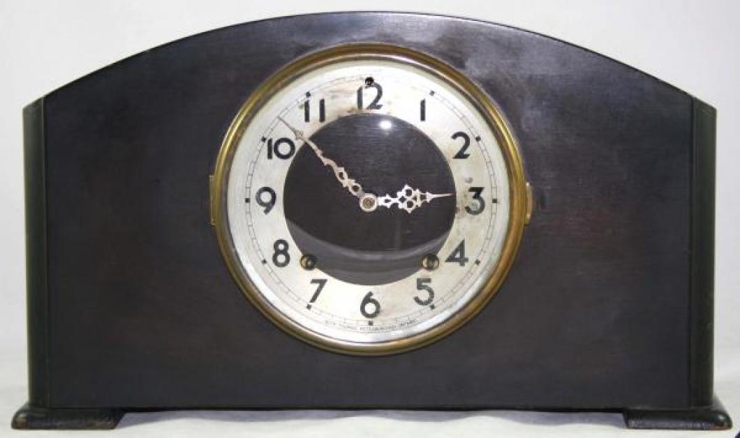 Seth Thomas STRATHROY model mantel clock (spring-driven, time & strike)