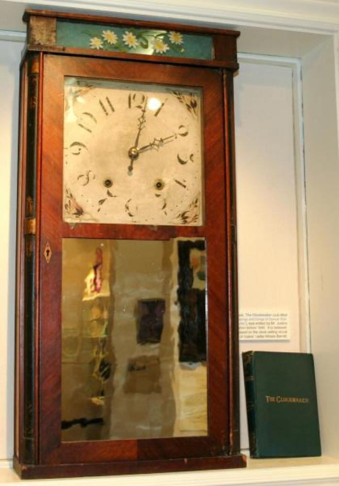 Galleries Wood Gear Clocks In Canada 1820s 1830s Moses