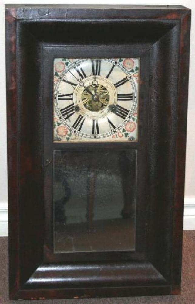 R.B. Field Brockville, Canada West 1840 - 1851 Ogee-style mantel clock