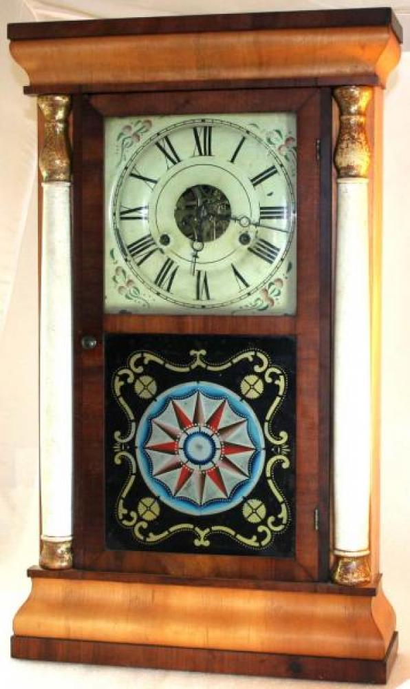 1830s S.J. Southworth, Leeds County, CW Seth Thomas clock