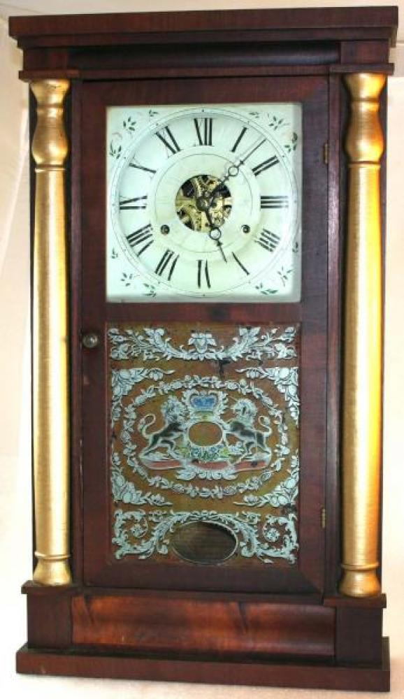 1830s W.H. Vantassel, Seth Thomas clock