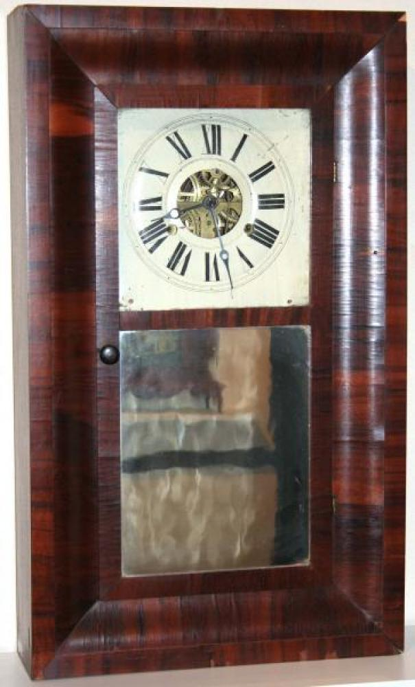 W. Fairbanks, St. John, New Brunswick, 1850s Ogee-style mantel clock