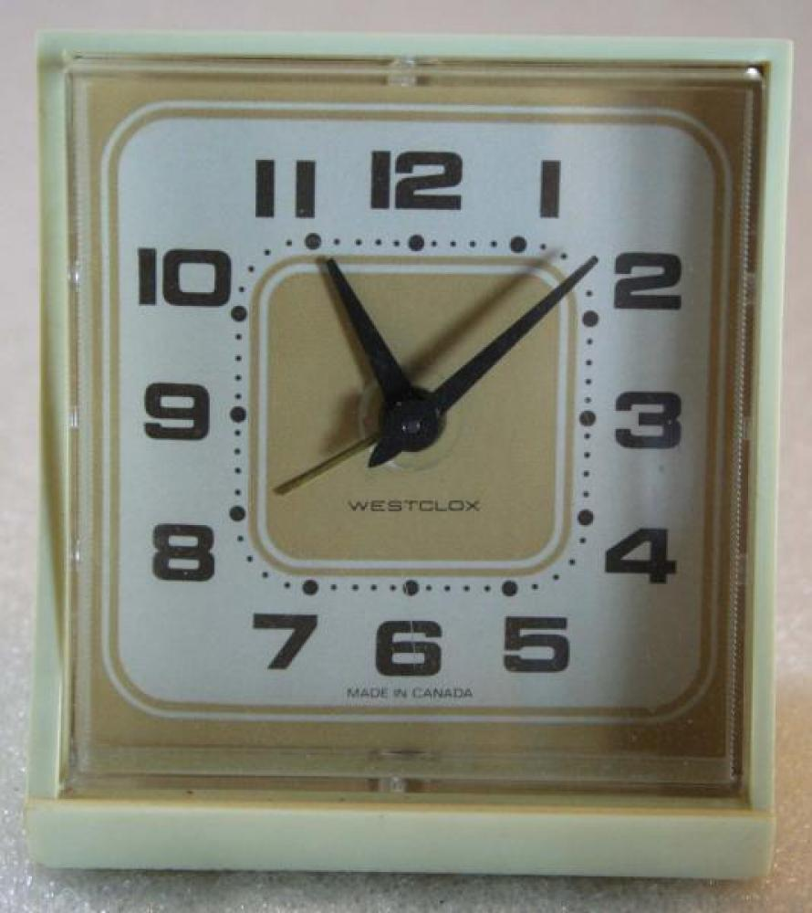 Westclox 1970s (No Name) Alarm Clock