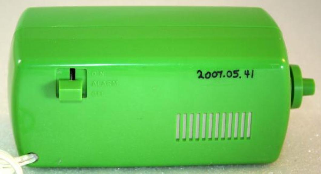 Westclox 1970s Speed-Read Lite-Alarm  (Backside View)