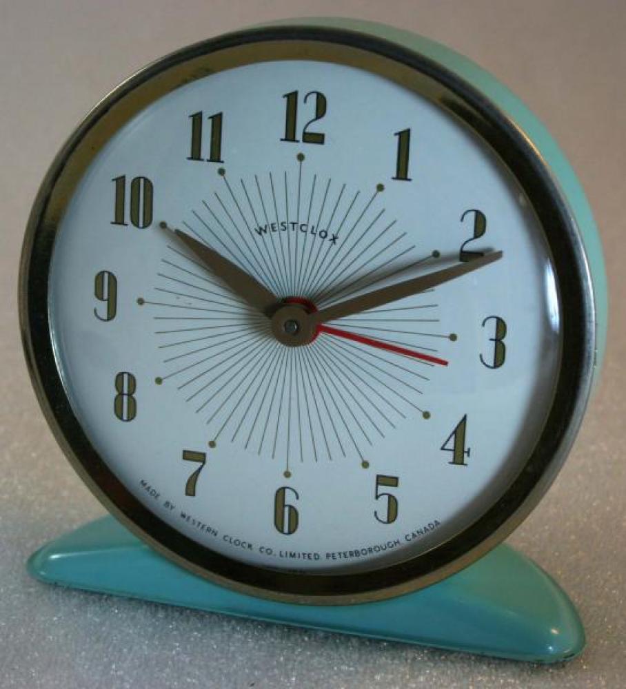 Westclox 1950s America  Alarm clock
