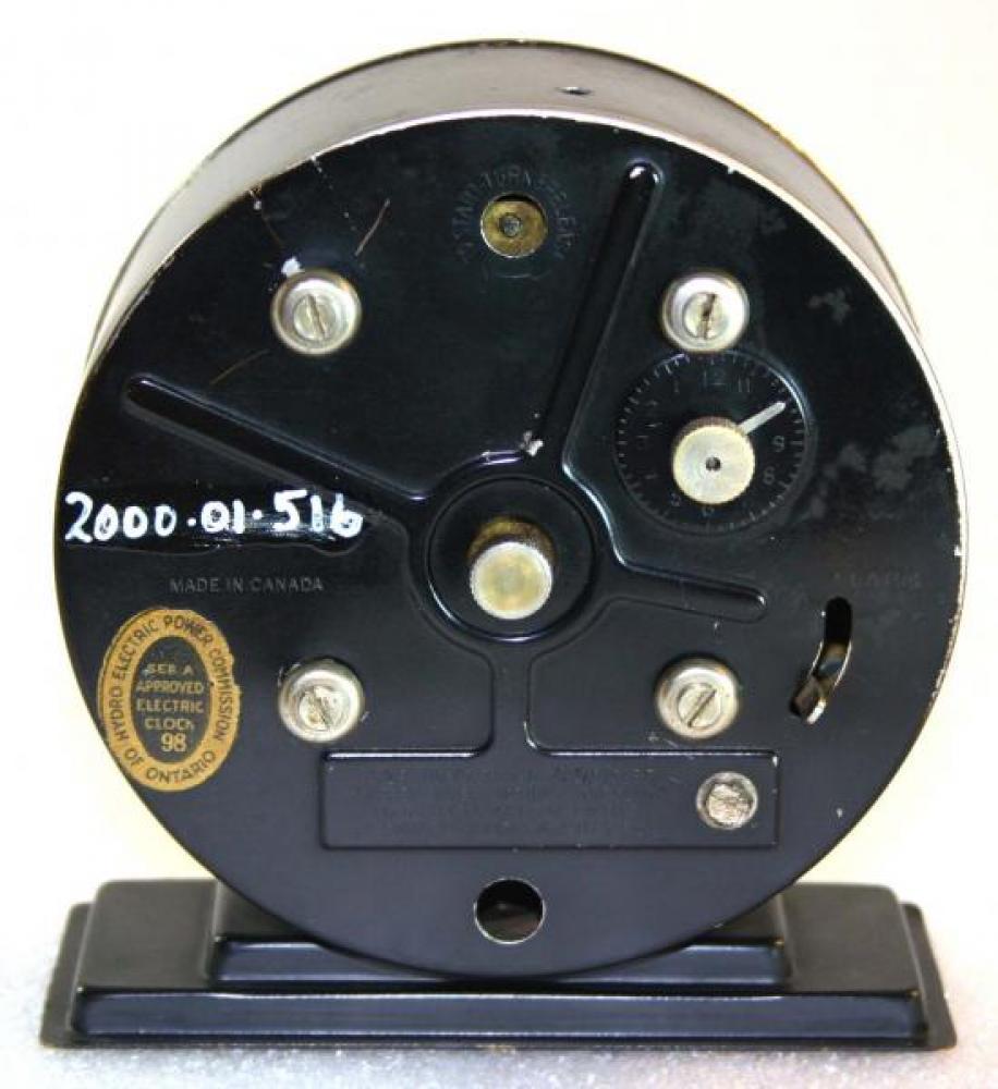 Westclox 1930s America Electric  Alarm Clock (Backside View)