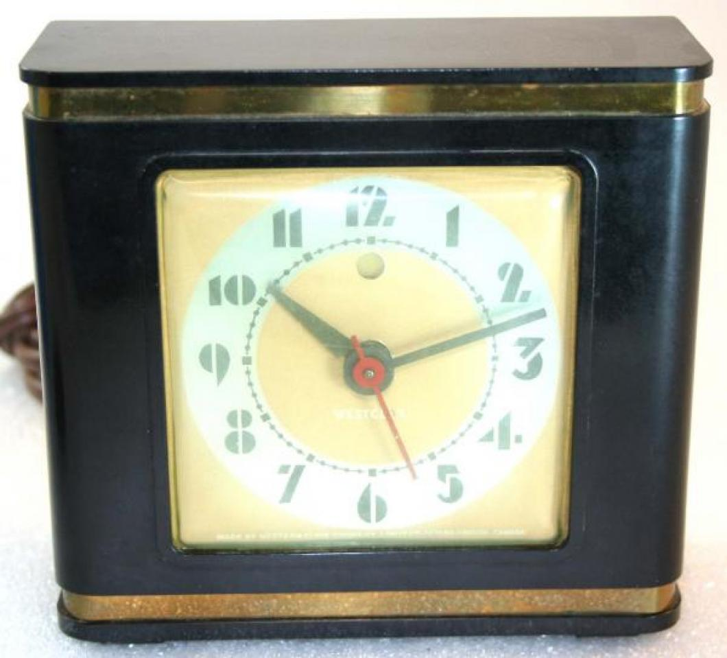 Westclox 1930s Bachelor  Alarm Clock