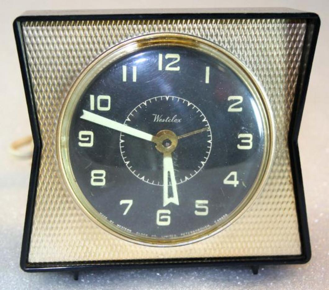 Westclox 1950s Dash  Alarm Clock