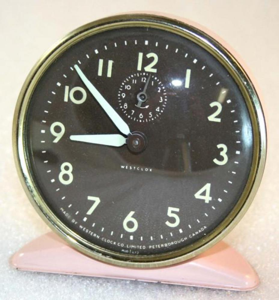 Westclox 1950s Fawn  Alarm Clock
