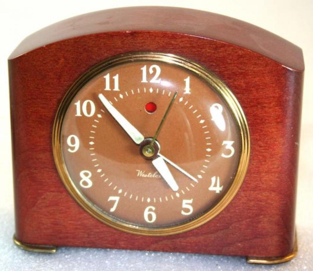 Westclox 1950s Greenwich  Alarm Clock