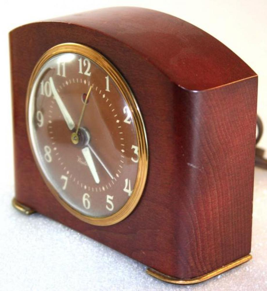 Westclox 1950s Greenwich  Alarm Clock (Side View)