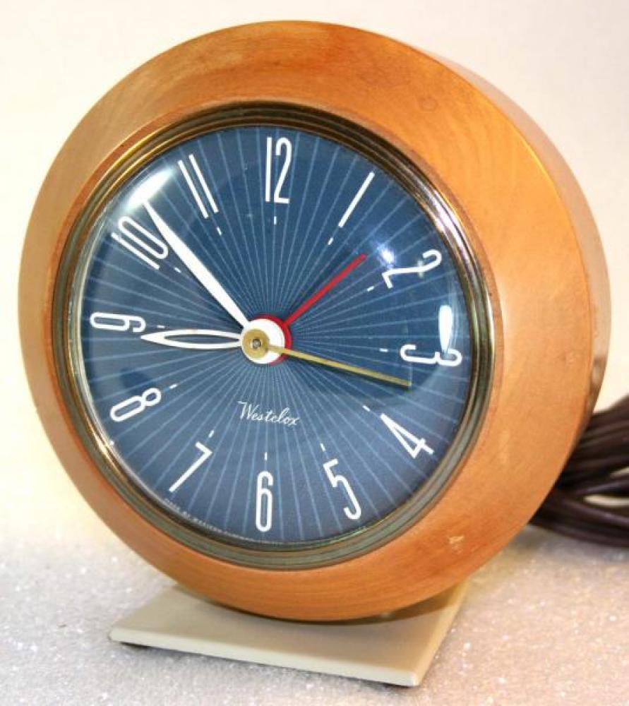 Westclox 1950s Kendall  Alarm Clock