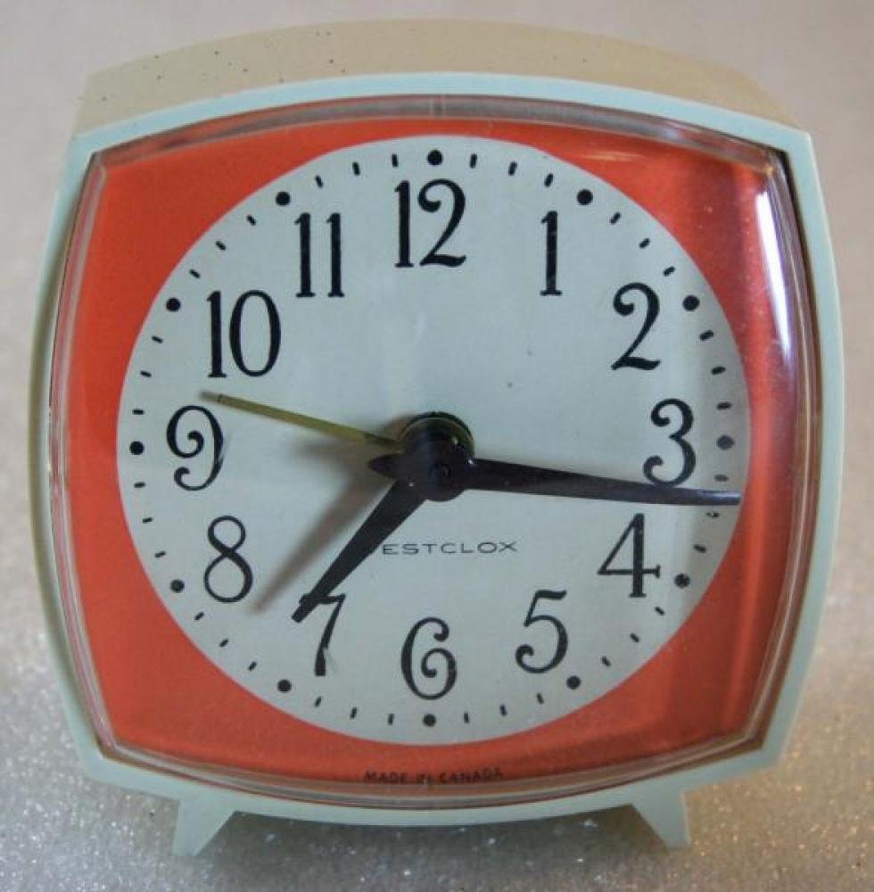 Westclox 1970s Nap Alarm Clock