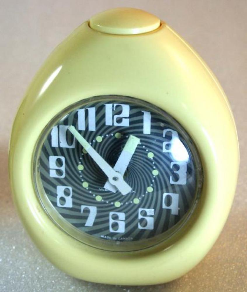 Westclox 1970s (Egg) Alarm Clock
