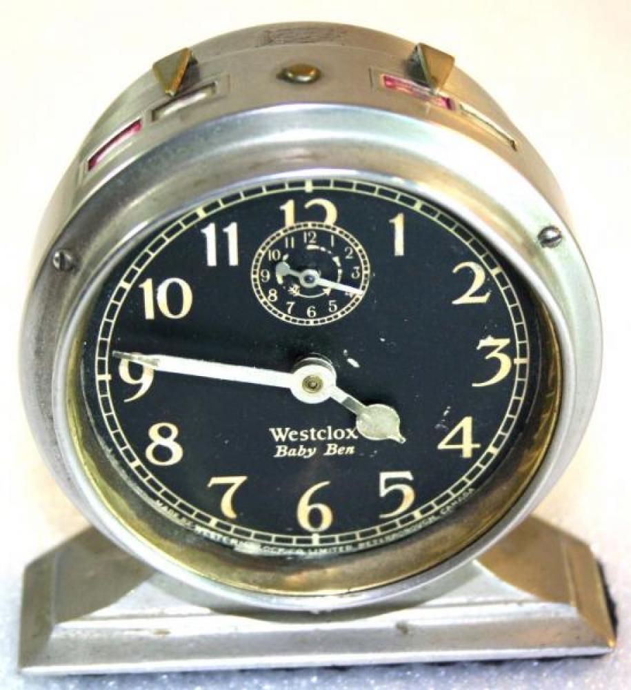 Westclox 1920s Baby Ben Alarm Clock