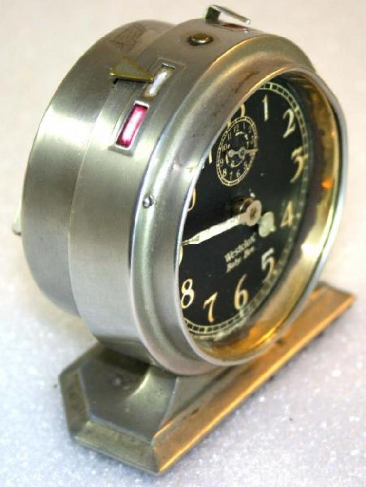 Westclox 1920s Baby Ben Alarm Clock (Side View)