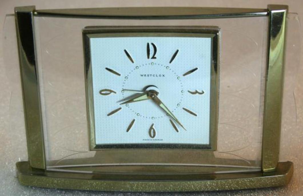 Westclox 1950s Leland  Alarm Clock