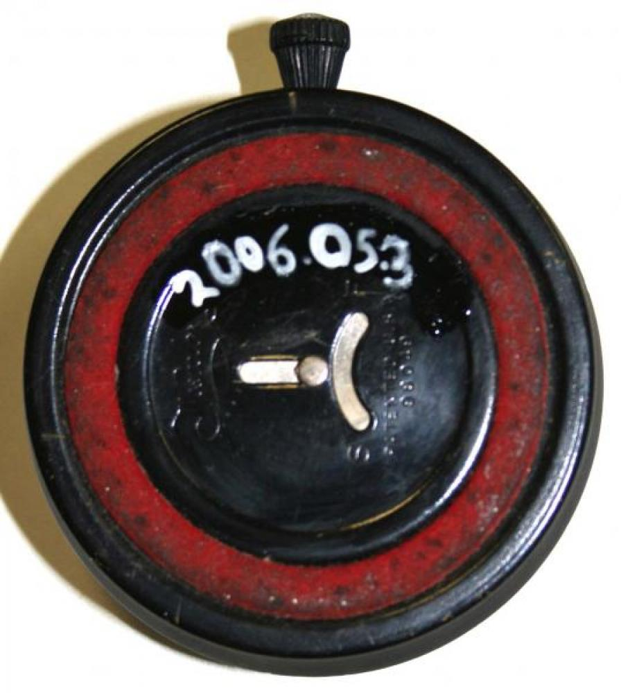 Westclox 1930s Table Clock (Backside View)