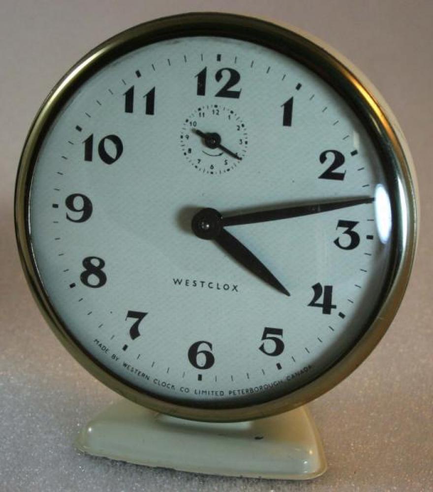 Westclox 1960s America  Alarm Clock