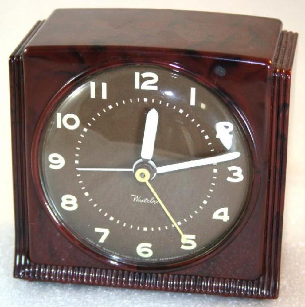 Westclox 1970s Bantam Alarm Clock
