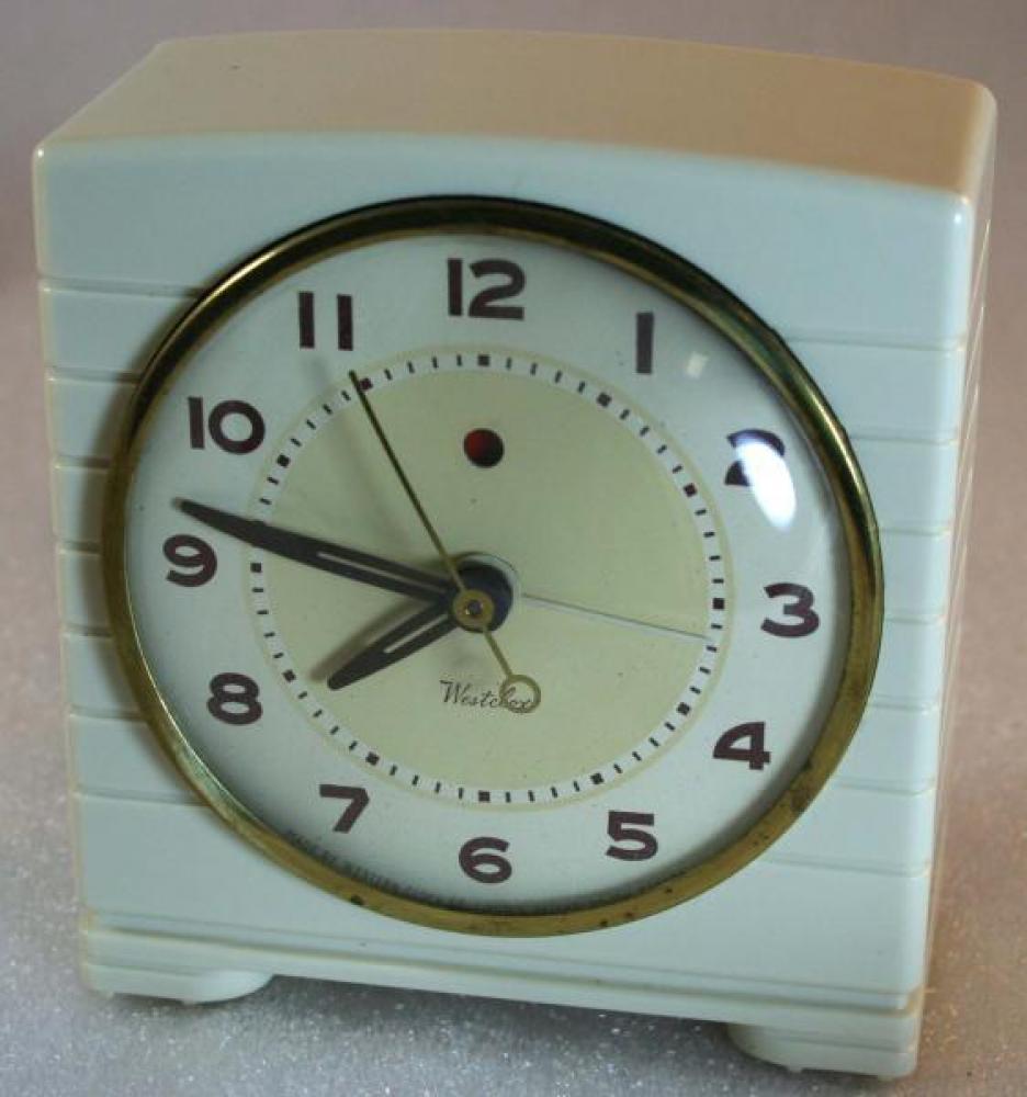 Westclox 1950s Barry Alarm Clock