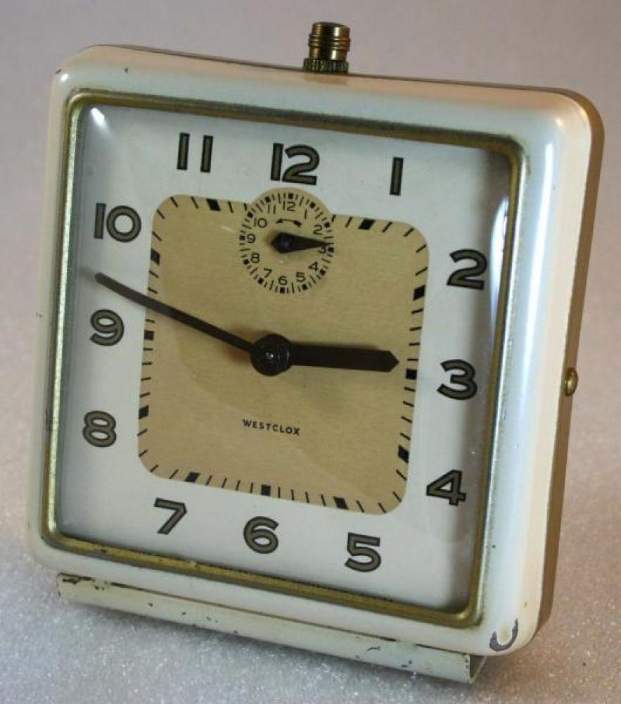 Westclox 1948-1956 Bellboy Alarm Clock