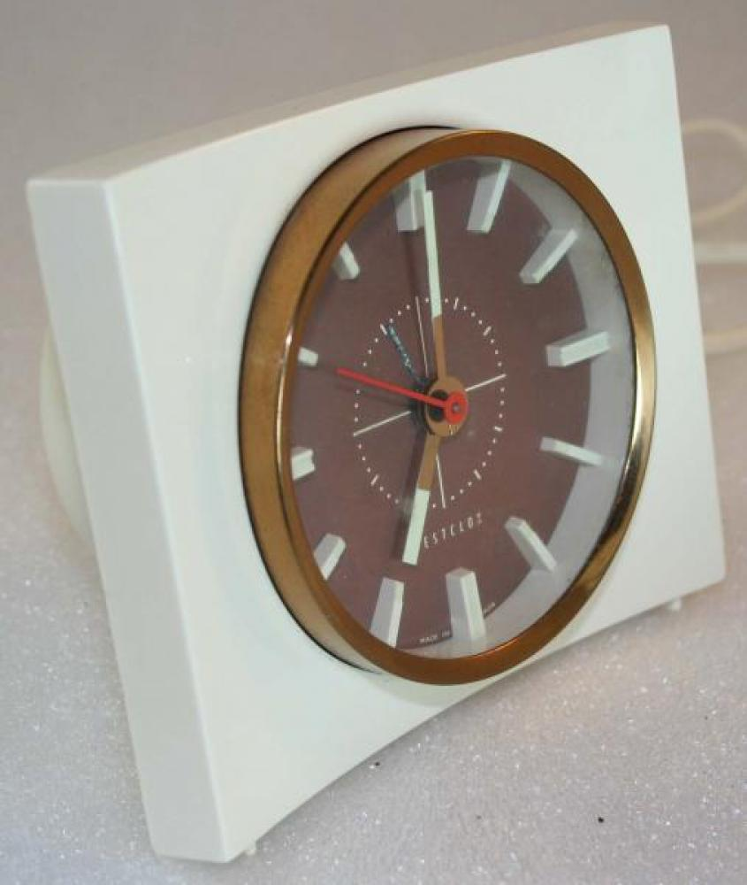 Westclox 1960s Brant Alarm Clock (Side View)