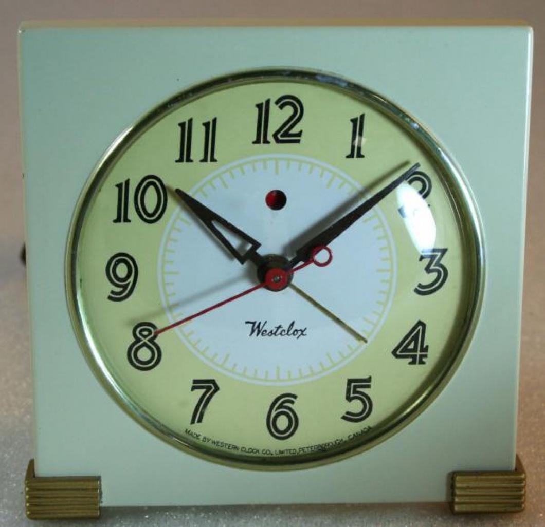 Westclox 1940s Logan Alarm Clock