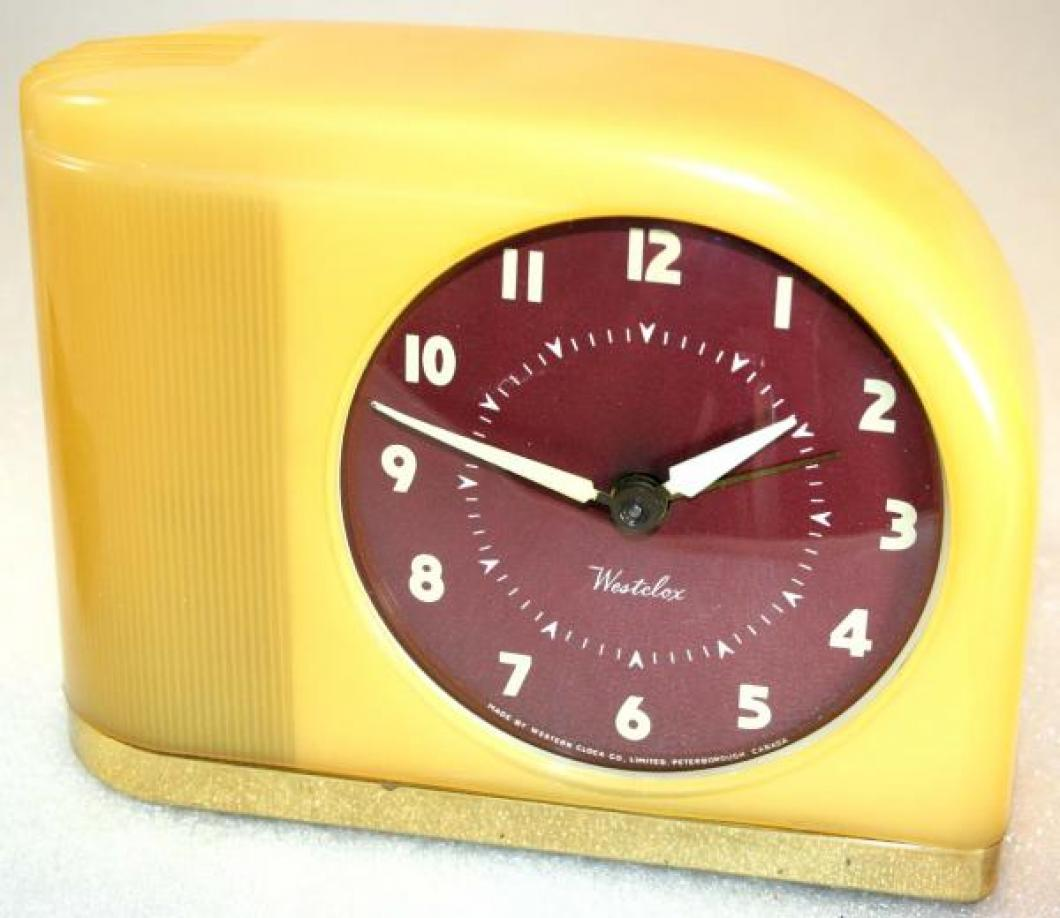 Westclox 1940s Moonbeam Alarm Clock