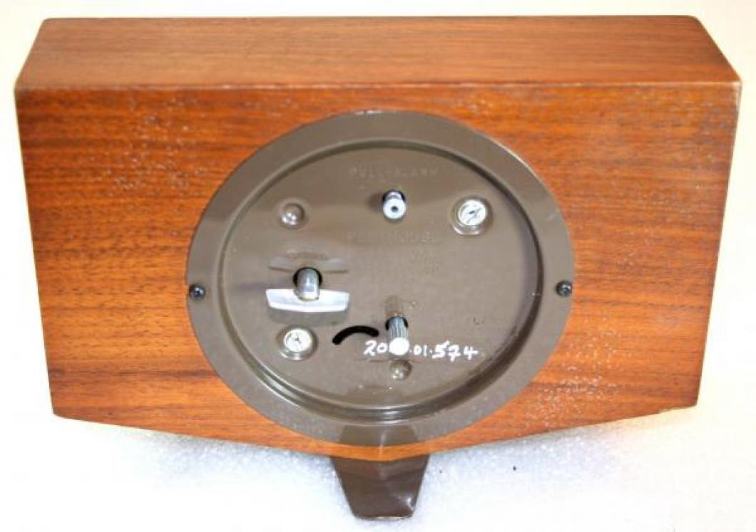 Westclox 1950s Penthouse Alarm Clock (Backside View)