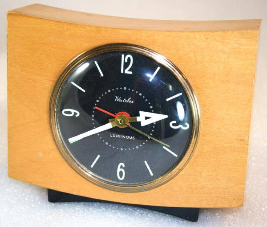 Westclox 1950s Pittsfield  Alarm Clock