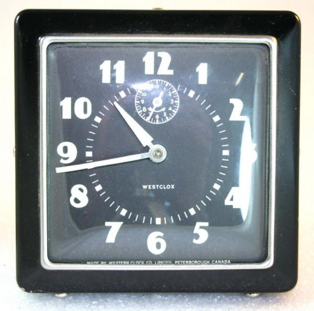 Westclox 1930s Spur Alarm Clock